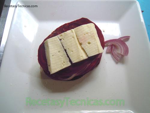Agregar queso de cabra