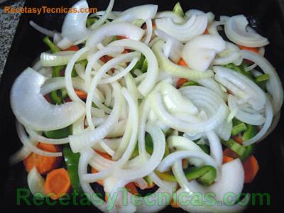 Colchón de vegetales